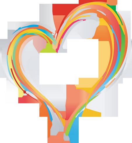 Coloriage De Coeur En Couleur.Coeur Couleurs