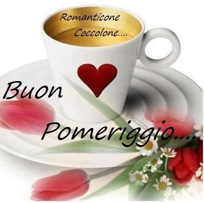 Café et  Bon APRES-MIDi en italien