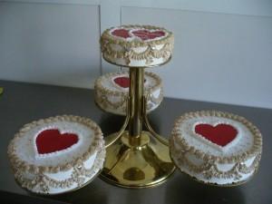 plusieurs gâteau coeur pour mariage jolis coeurs image de coeur ...