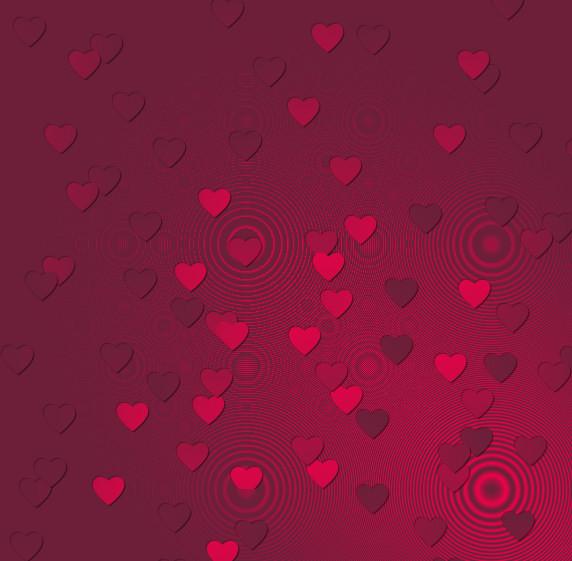 Image Avec Des Coeur papier-coeur. un joli fond avec des coeurs roses - centerblog