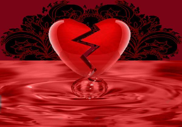 belle image de coeur brisé