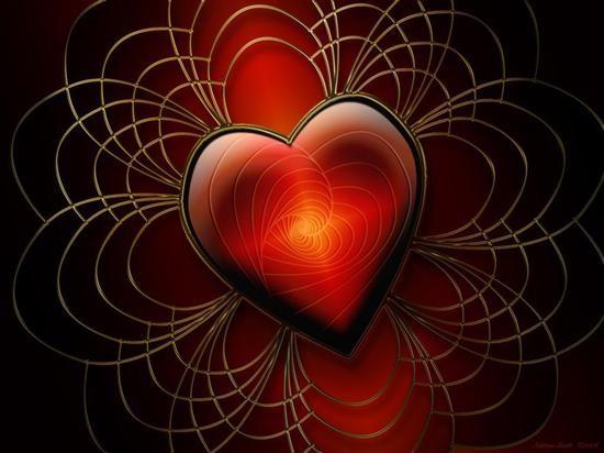 superbe coeur rouge