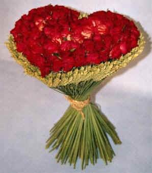 Joli Bouquet En Coeur