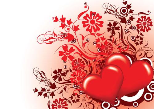 Joli decor avec des coeurs roses centerblog - Images avec des coeurs ...