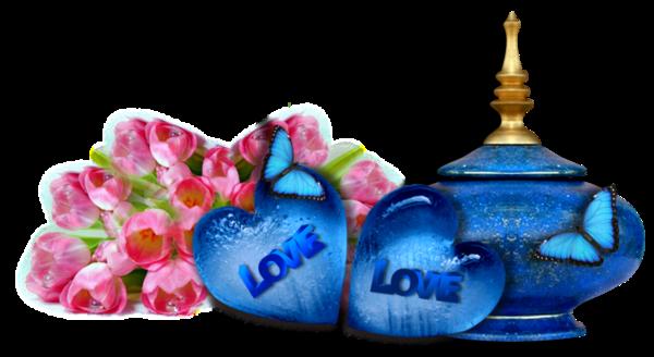 COEUR LOVE créer par CALINE