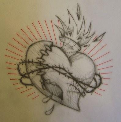 Tatouage de Coeur.