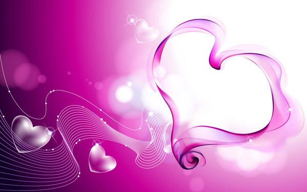 fond d 39 ecran joli coeur rose fond de coeur rose. Black Bedroom Furniture Sets. Home Design Ideas