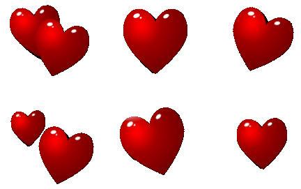 Des coeurs rouges centerblog - Dessin de petit coeur ...