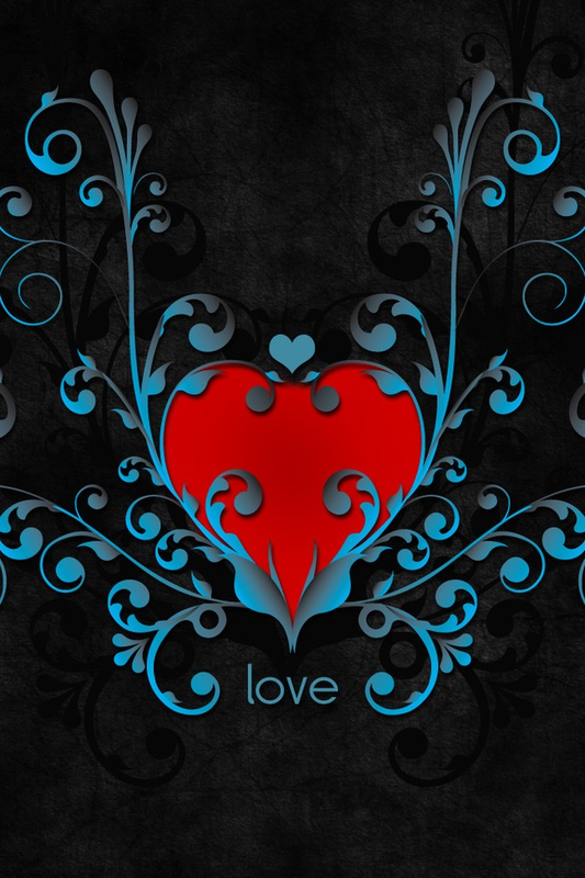 magnifique coeur LOVE