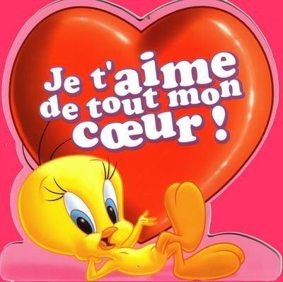 """TITI COEUR et Message """"je t'aime de tout mon Coeur"""""""