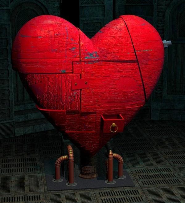 image  original d'un coeur rouge