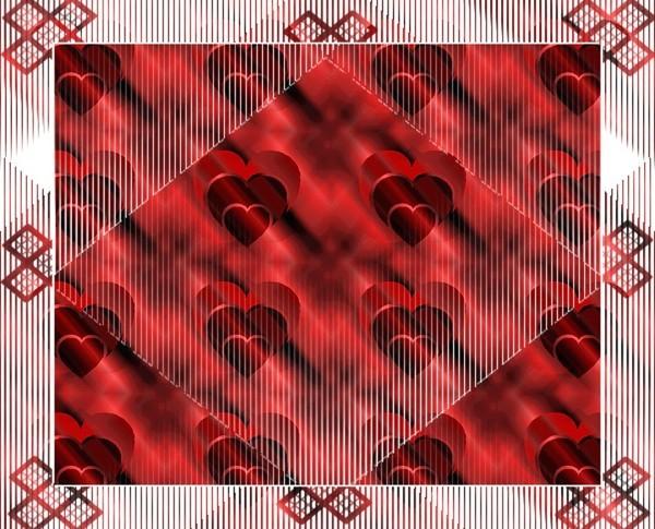 Joli fond d 39 ecran de coeur pour la saint valentin centerblog - Coeur pour la saint valentin ...