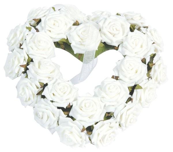 boite coeur jolie boite florale rempli de roses blanches centerblog. Black Bedroom Furniture Sets. Home Design Ideas