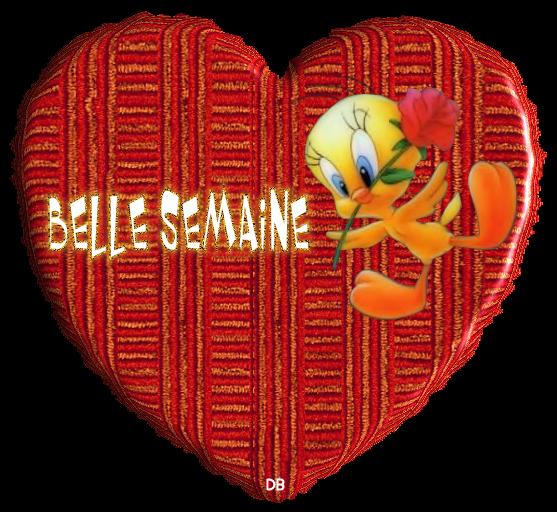 BELLE SEMAINE dans un joli coeur avec titi