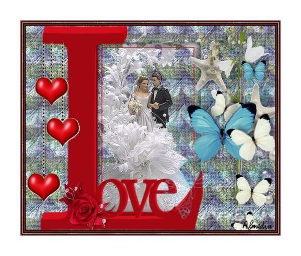 Image LOVE et coeur
