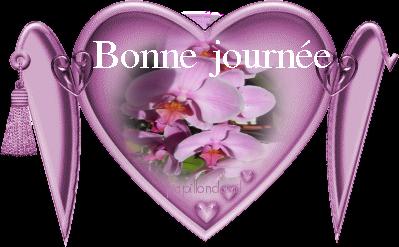 Prenom lydia 7 dans un joli coeur rose avec fleur centerblog - Coeur avec des fleurs ...