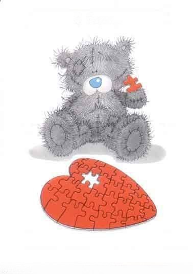 ours et coeur pulzze