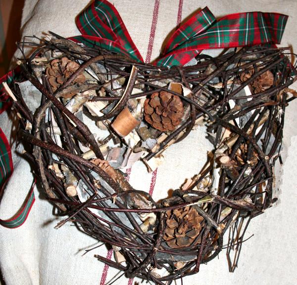 Gros coeur en bois pour decoration de no l centerblog - Decoration coeur en bois ...