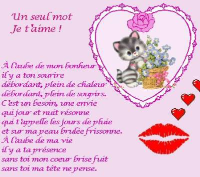 Saleh Blog Je T Aime Poeme