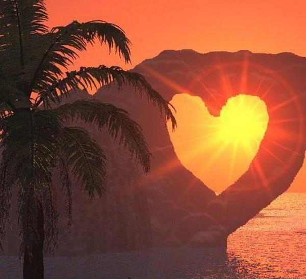 Magnifique coeur dans un superbe d cors centerblog - Images avec des coeurs ...