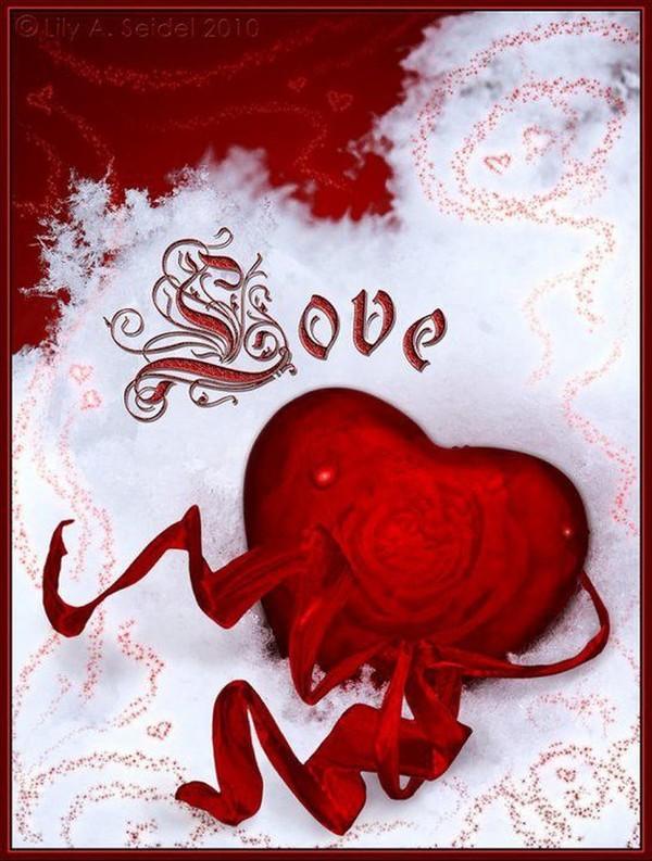 belle image de coeur offerte par AYALA