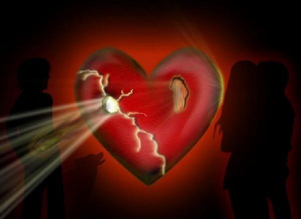 image d'un coeur brisé