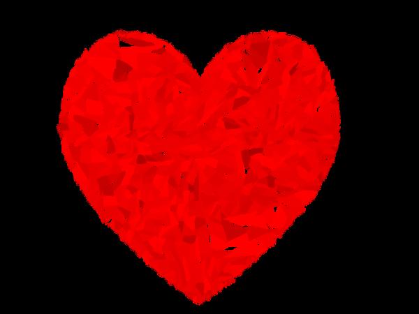 sch ma du coeur en rouge et bleu schema du coeur. Black Bedroom Furniture Sets. Home Design Ideas