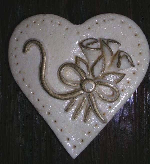 image d un joli coeur en p 226 te 224 sel ange en pate a sek