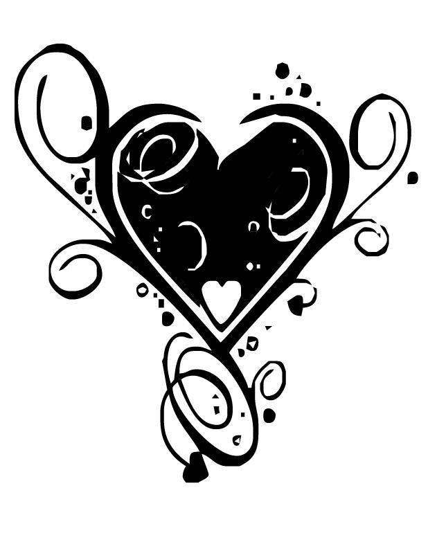 Image Coeur Noir Et Blanc news and entertainment: coeur noir (jan 06 2013 12:12:43)