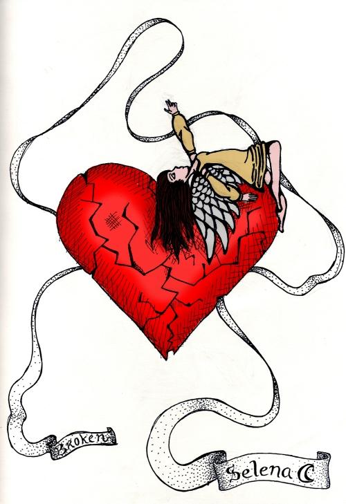 image de Coeur brisé avec ange