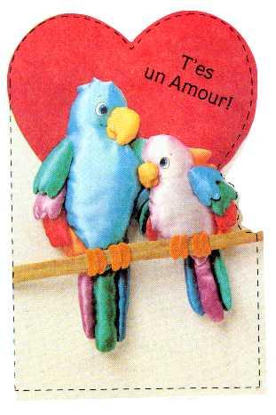 T Es Un Amour Oiseaux Sur Perchoir Et Coeur Centerblog