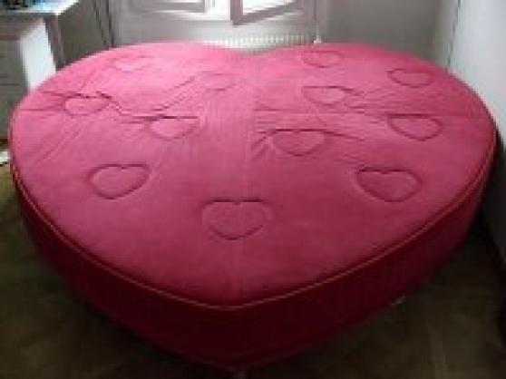 Objet coeur lit forme coeur lit coeur - Tete de lit en forme de coeur ...