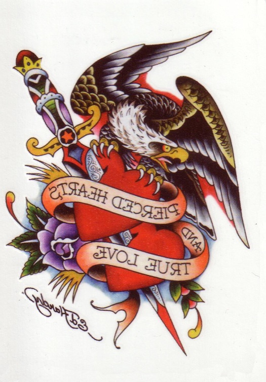 Tatouage femme coeur bris - Image tatouage coeur ...